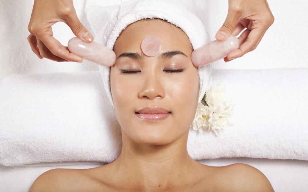 Rose Quartz Facial Massage