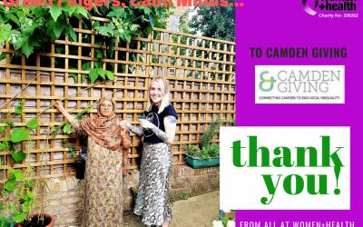 THANK YOU Camden Giving!