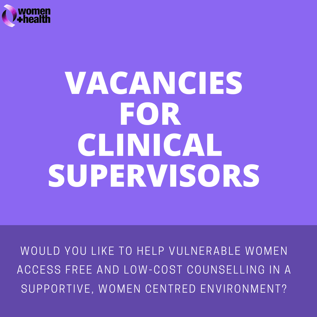 VACANCIES FOR CLINICAL SUPERVISORS
