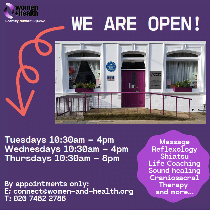 WE ARE OPEN! New opening times & by appointment only