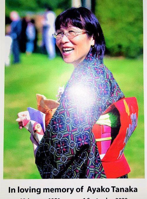 In loving memory of Ayako Tanaka